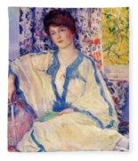 Early Morning Summertime 1920 Fleece Blanket