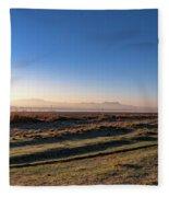 Early Morning Sunrise In Clarens Fleece Blanket