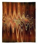 Earth Frequency Fleece Blanket