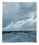 East Of The Little Missouri Fleece Blanket
