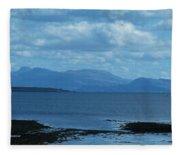 East Shores Of Isle Of Skye Fleece Blanket
