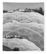Eden Project Biome  Fleece Blanket