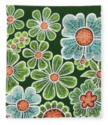 Efflorescent 10 V2 Fleece Blanket by Amy E Fraser