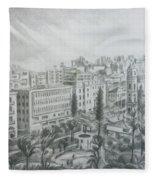 El Mansheya Park - Tripoli Fleece Blanket
