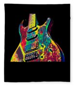 Electric Guitar Musician Player Metal Rock Music Lead Fleece Blanket
