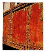 Elegant Rust Number 2 Fleece Blanket