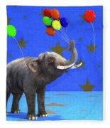 Elephant Celebration Fleece Blanket
