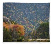 Elephant Head Autumn Fleece Blanket