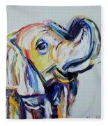 Elephant Tusk Fleece Blanket