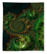 Emerald City. Fleece Blanket