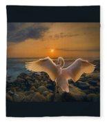 End Of Day Fleece Blanket
