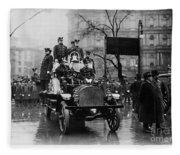 Engine 91 Fdny 1910 Fleece Blanket