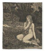 Eva From Eva Und Die Zukunft Fleece Blanket