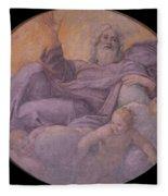 Everlasting Father  Fleece Blanket
