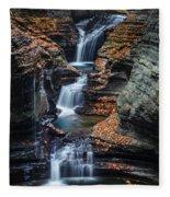 Every Teardrop Is A Waterfall Fleece Blanket
