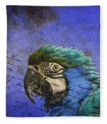 Blue Exotic Parrot- Pirates Of The Caribbean Fleece Blanket
