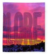 Explore Fleece Blanket