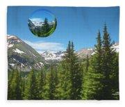 Eye On Summit County Fleece Blanket