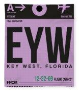 Eyw Key West Luggage Tag I Fleece Blanket