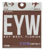 Eyw Key West Luggage Tag II Fleece Blanket