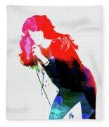 Faith Hill Watercolor Fleece Blanket