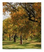 Fall Ave Fleece Blanket