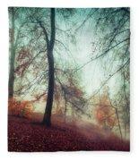 Fall Feeling Fleece Blanket