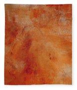Fall Golden Hour- Abstract Art By Linda Woods Fleece Blanket