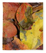 Falling Into Fall Fleece Blanket