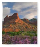 Feather Dalea, Caprock Canyons State Fleece Blanket