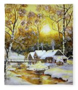 Feerie Winter Fleece Blanket