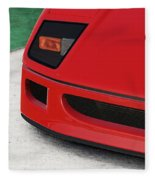 Ferrari F40 - 09 Fleece Blanket