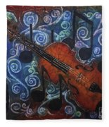 Fiddle 1 Fleece Blanket