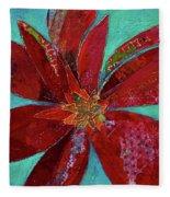 Fiery Bromeliad I Fleece Blanket