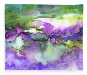 Finca On The Costa Blanca 01 Fleece Blanket