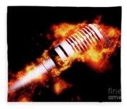 Fire It Up Fleece Blanket