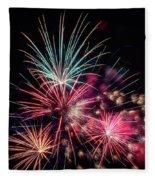 Fireworks 2019 One Fleece Blanket