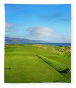 First Tee At Brora Golf Club, Moray Fleece Blanket