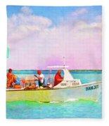 Fishing Bandit Fleece Blanket