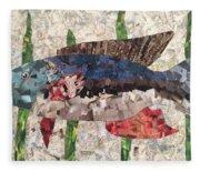 Fishy Fleece Blanket