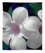 Floral Photo A030119 Fleece Blanket by Mas Art Studio