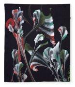 Flower Dance Fleece Blanket