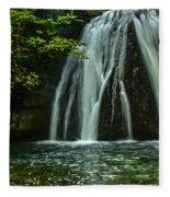 Flowing Falls  Fleece Blanket