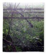 Foggy Web Fleece Blanket