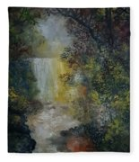 Forest Murmers Fleece Blanket