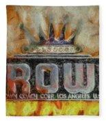 Forged In Fire - Crown - Oil Fleece Blanket