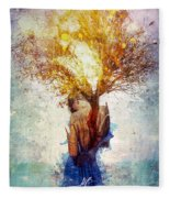 Forgiveness Fleece Blanket
