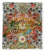 Forms Of Nature #1 Fleece Blanket