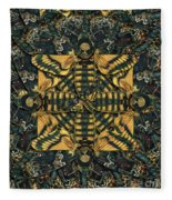 Forms Of Nature #12 Fleece Blanket