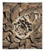 Forms Of Nature #16 Fleece Blanket